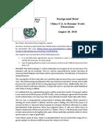 Thayer China-U.S. to Resume Trade Talks