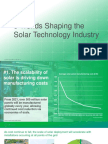 IHS Markit - Five Trends Shaping Solar Technology Industry