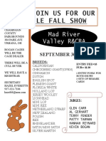 mad river fall show 2018