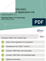Infineon-Motor Control Application Kit Getting Started-GS-V02 00-En
