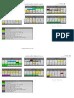 Calendario acadêmico da UEMG 2018