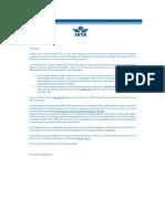 IATA - Circular y Resolucion 890 (ESP)