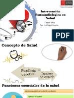 intervención en salud