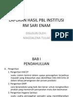 Presentasi Institusi
