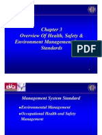 Chapter 3 - Overview of Health & Safety Management System