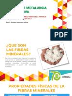 AVANCES DE METALURGIA RECUPERATIVA por el Prof. Walter Pardavé Livia