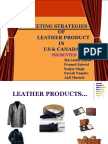 Marketing Strategies Leather Products