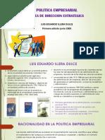 Diapositivas de Politica Empresarial