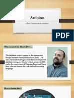 Introduction to an Arduino    Arduino Basics    Arduino Overview