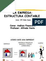 1.2 La Empresa - Estructura Contable