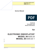 Storz Endoflator Insufflation Unit - Service Manual