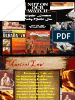 Literature During Martial Law