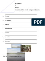 Lake Chini - Writing