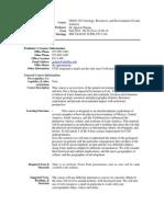 UT Dallas Syllabus for geos3321.001.10f taught by Ignacio Pujana (pujana)