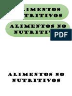 ALIMENTOS NO NUTRITIVOS.docx