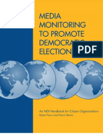 National Democratic Institute Media Monitoring Guide