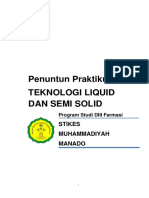 Praktikum Teknologi Liquid Semi Solid FIIIIXXX