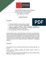 Informe de Análisis - Historia Universal Contemporánea I