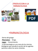 Clase 1 Introduccion Farmaco