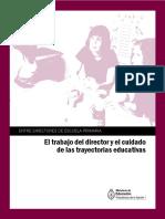 El trabajo del director y el cuidado de las trayectorias educativas pdf.pdf