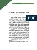 LosJuiciosDeValorEnLaDecisionJudicial Parte 1