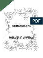 Cover Borang Transit Pbs