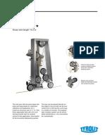 SPECS Diamond Wire Cutting Machine TYROLIT