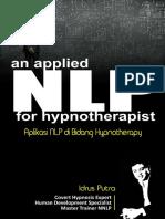IDRUSPER SPL an Applied NLP for Hypnotherapist