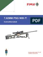 FMV 7,62MM PSG 90B-T Instrutionsbok