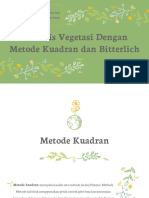 Metode Kuadran Dan Bitterlich FIX