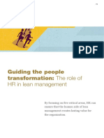 Guiding the people transformation The role of HR in lean management.pdf