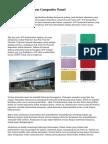 Mengerti Aluminium Composite Panel