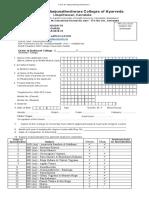 Application Form PG
