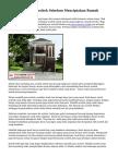 Trik Menyeleksi Arsitek Sebelum Menciptakan Rumah