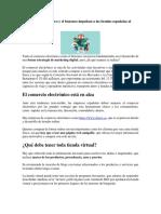 El Comercio Electrónico y El Buzoneo Impulsan a Las Tiendas Españolas Al Éxito