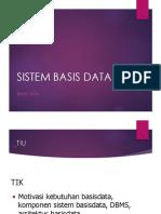 Bab 2 - Sistem Basis Data