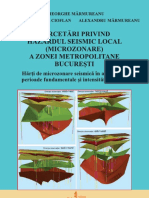 Cercetari Privind Hazardul Seismic Local -Microzonare-A Zone