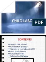 Child Labour, Causes & Solution