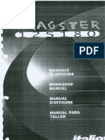 Italjet Dragster 125 180 Workshop Manual