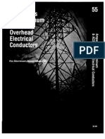 Ampacities for Aluminum & ACSR Overhead Electrical Conductors