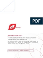 DFE-CON-PCD-003 PROCÉDURE DE GESTION DES MODIFICATIONS ET CHANGEMENTS SUR LE CHANTIER_Rév 1 (UNSECURED ).pdf