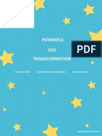 CEO Transformation Brochure