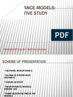 Microfinance Models-presentation by p.g