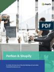 Perfion & Shopify lassen Ihr Out-of-the-Box Webshop mit wertvollen Produktinformationen überschäumen