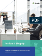 Perfion & Shopify statten Ihren Out-of-the-Box Webshop mit wertvollen Produktinformationen aus