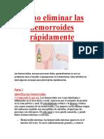 Cómo eliminar las hemorroides rápidamente.pdf