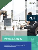 Perfion og Shopify får din klar-til-brug netbutik til at bugne med værdifuld produktinformation