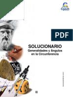 Solucionario Generalidades y Ángulos en La Circunferencia 2016