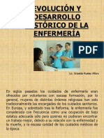 Historia y Evolucion de Enfermeria[1]