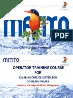 CHLORINE DIOXIDE Training Modulus